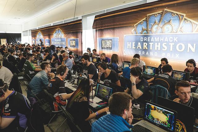 hearthstone dreamhack jogadores