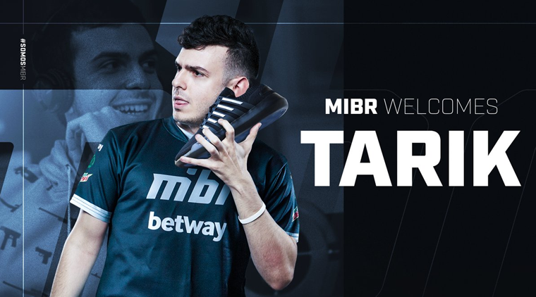 MIBR Ainda pode ganhar a camisa do seu jogador da MIBR