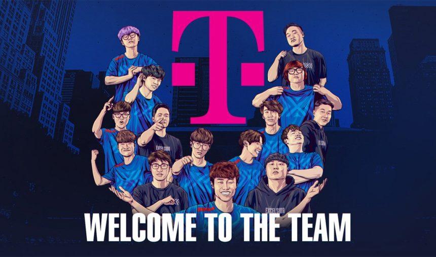 T-Mobile anunciada como patrocinadora dos New York Excelsior - RTP Arena e2be836ebedf4