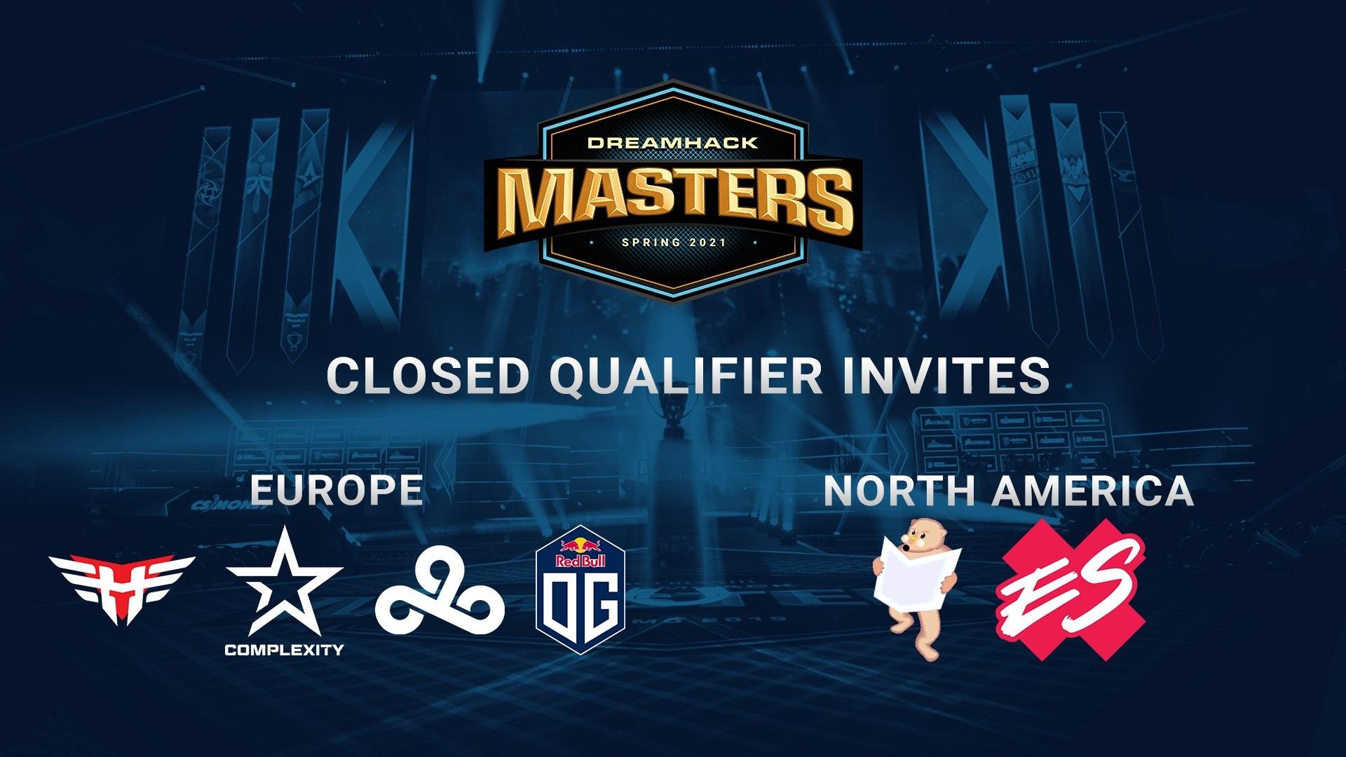 Convites DreamHack Masters