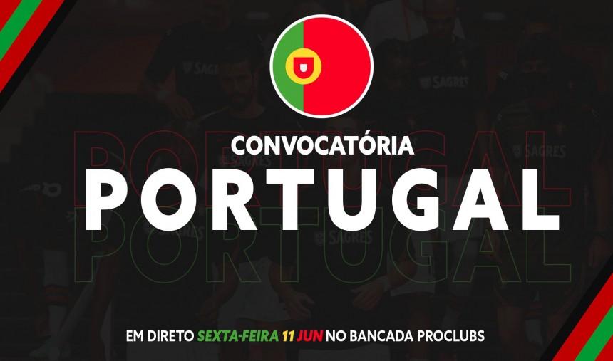 Convocatória Portugal Pro Clubs Seleção Nacional