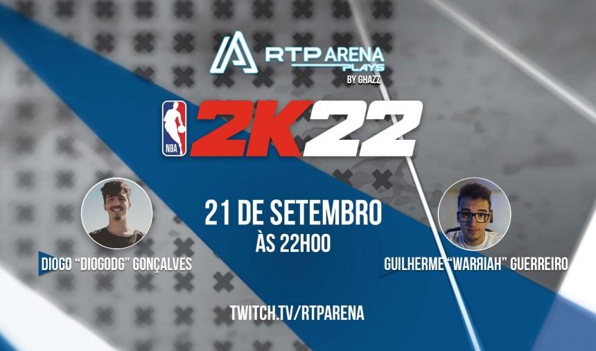 NBA 2K22 RTP Arena Plays