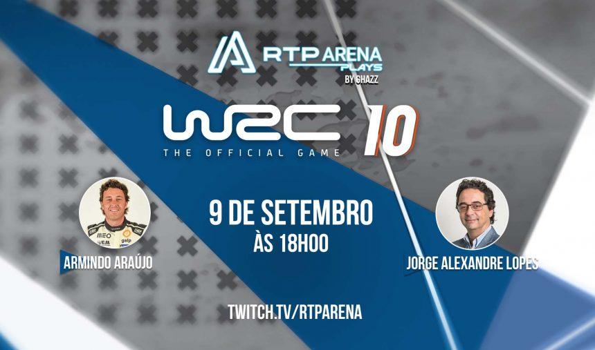 RTP Arena Plays ghazz WRC 10