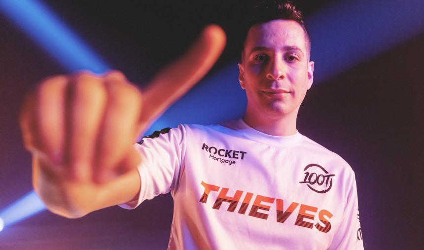 steel 100 Thieves VCT