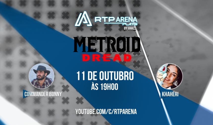 RTP Arena Plays Metroid Dread